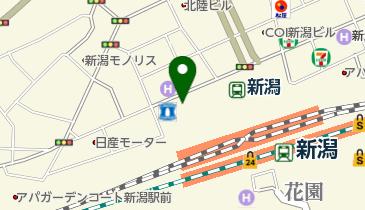 にいがたレンタサイクル 石宮公園地下自転車駐車場ステーションの地図画像