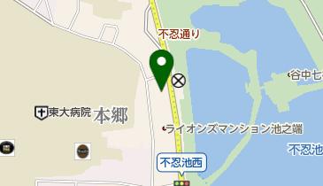 横山大観記念館の地図画像