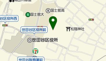 若林公園の地図画像