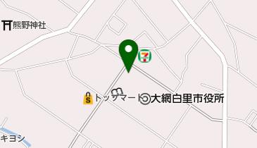 大網白里市中央公民館の地図画像