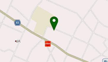 大網白里市白里公民館の地図画像