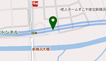 北新横浜公園の地図画像