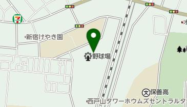 西戸山公園の地図画像