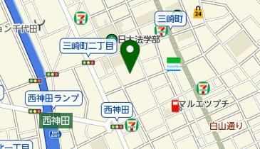西神田児童センターの地図画像