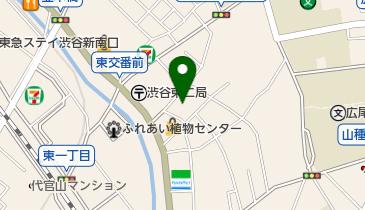 氷川区民会館の地図画像