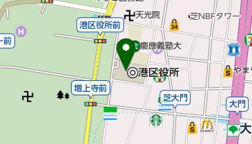 港区役所の地図画像