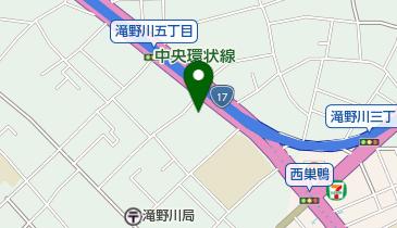 北区立滝野川西区民センター(滝野川西ふれあい館)の地図画像