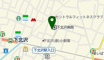 北沢タウンホールの地図画像