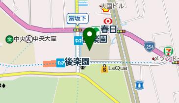 文京シビックセンターの地図画像