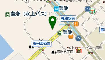 豊洲文化センターの地図画像