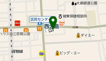 江東区総合区民センターの地図画像