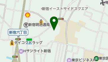 新宿区立新宿文化センターの地図画像
