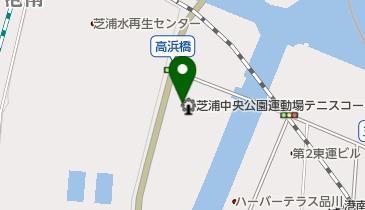 芝浦中央公園運動場の地図画像