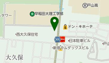 新宿コズミックセンターの地図画像