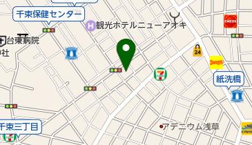 千草公園の地図画像