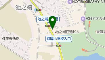 池之端児童遊園の地図画像