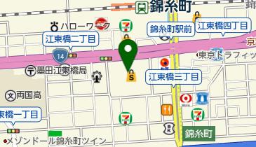 すみだ産業会館の地図画像