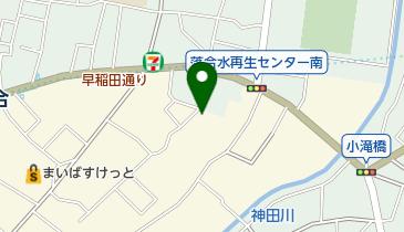中野区 東中野区民活動センターの地図画像
