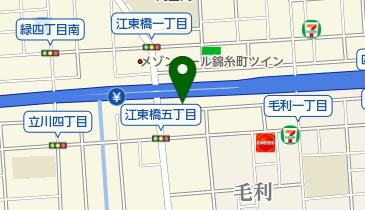 江東橋集会所の地図画像