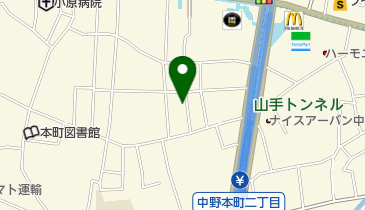 中野区立朝日が丘児童館の地図画像