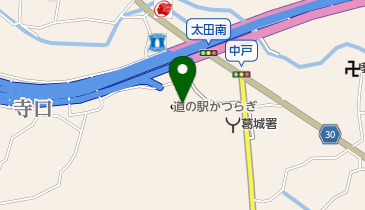 道の駅 かつらぎの地図画像
