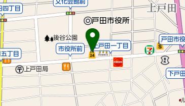 ローソンストア100 上戸田一丁目店の地図画像
