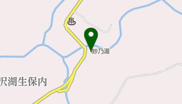 乳頭温泉郷 妙乃湯の地図画像