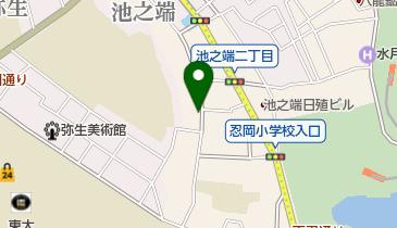 池之端しのぶ亭の地図画像