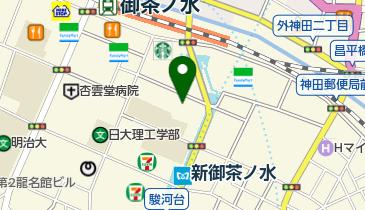 ニコライ堂(日本ハリストス正教会教団東京復活大聖堂教会)の地図画像