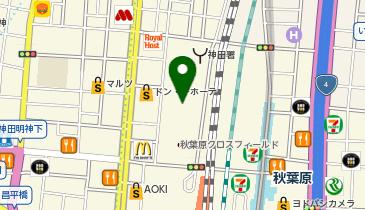 秋葉原UDXの地図画像