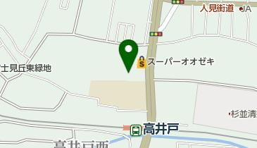 高井戸天然温泉 美しの湯の地図画像