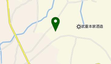しなの山林美術館の地図画像
