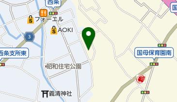 そば処奥藤本店 国母店の地図画像