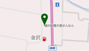 道の駅 雁の里せんなん雁太郎の地図画像