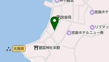 藤い屋 宮島本店の地図画像