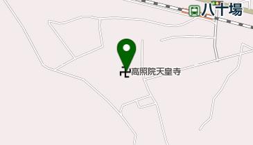 天皇寺の地図画像