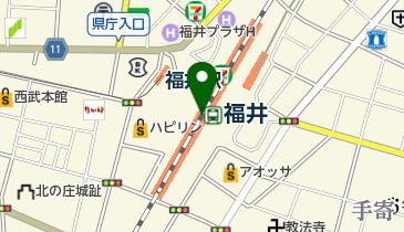 越前田村屋 プリズム福井店の地図画像