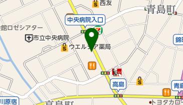 魚河岸丸天 富士店の地図画像
