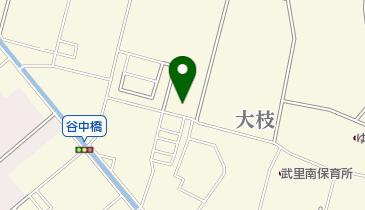 谷中小記念館の地図画像