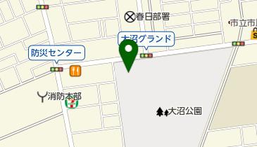 市民体育館の地図画像