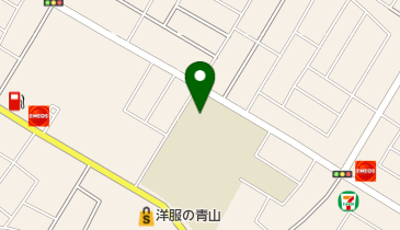 君津中学校の地図画像