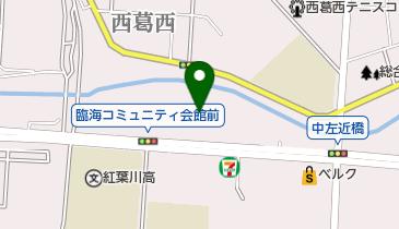 江戸川南部一帯の地図画像