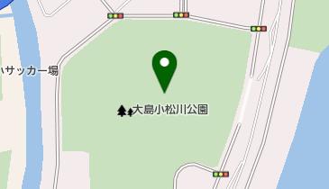 亀戸・大島・小松川地区の地図画像