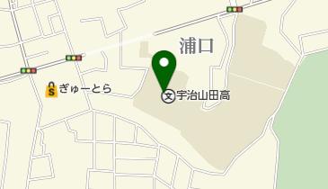 宇治山田高等学校校舎の地図画像