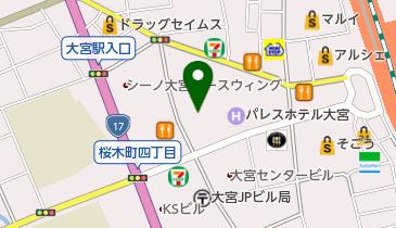 大宮ソニックシティホールの地図画像
