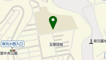 坂元中学校の地図画像