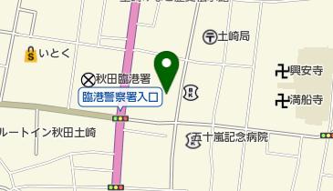 社会福祉法人はまなす会ケアハウス土崎(3階から8階までのホール、屋外階段と踊り場)の地図画像