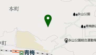 永山公園グラウンドの地図画像