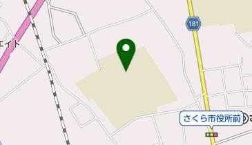 氏家小学校の地図画像