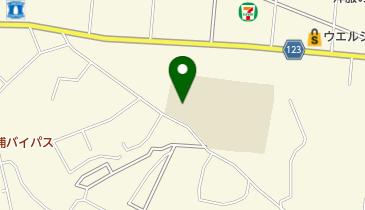 下高津小学校の地図画像